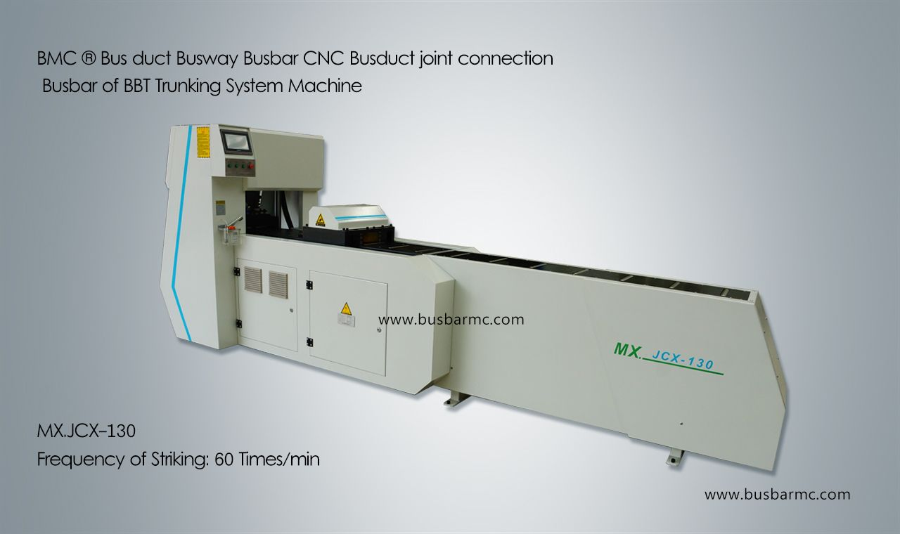 CNC Busduct joint connection busbar machine for Busbar Trunking System